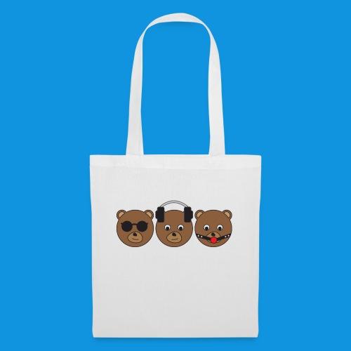 3 Wise Bears - Tote Bag