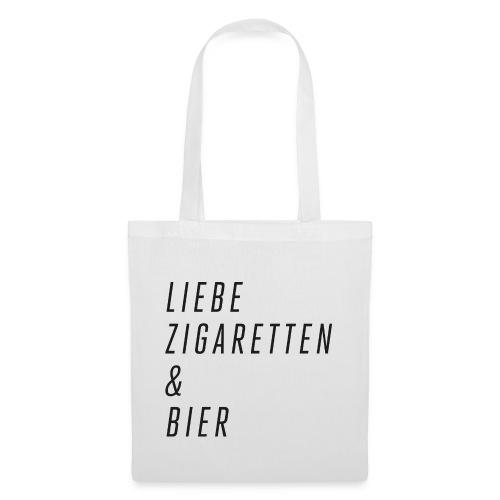 Liebe, Zigaretten & Bier - Stoffbeutel