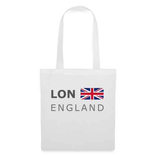 LON ENGLAND BF dark-lettered 400 dpi - Tote Bag