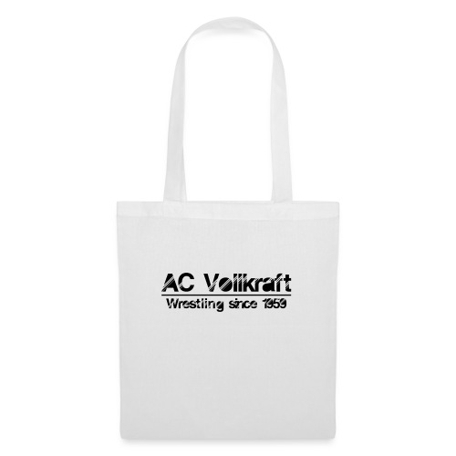 Ac Vollkraft - Wrestling since 1959 - Stoffbeutel