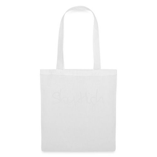 SkyHigh - Men's T-Shirt - Gray Lettering - Tote Bag