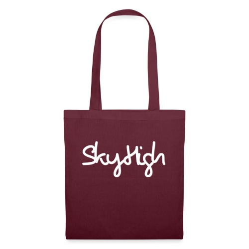 SkyHigh - Women's Hoodie - White Lettering - Tote Bag
