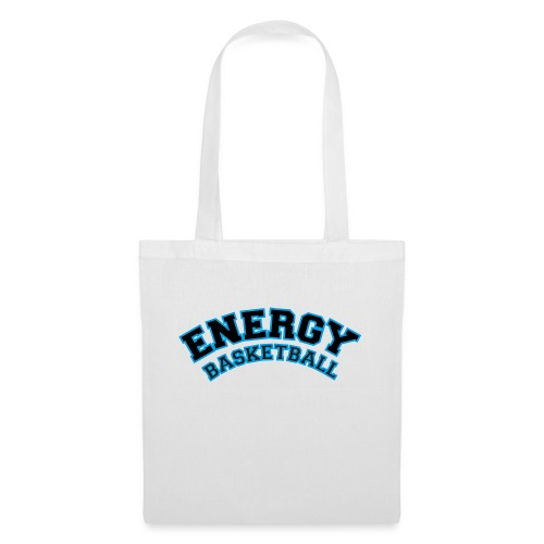 street wear logo nero energy basketball - Borsa di stoffa