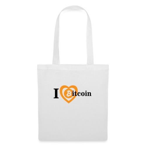 I Love Bitcoin - Stoffbeutel