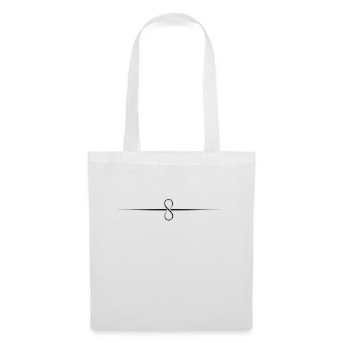 Through Infinity black symbol - Tote Bag