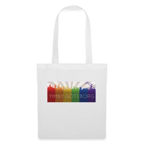 Yimby regnbågs-Tshirt - Tygväska