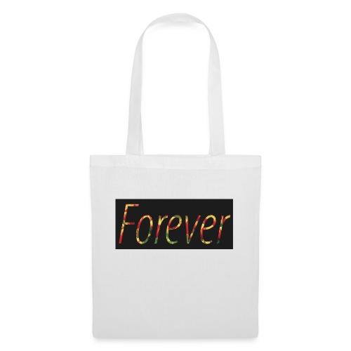 Forever Clothing Black Flowers T-shirt Men - Tas van stof