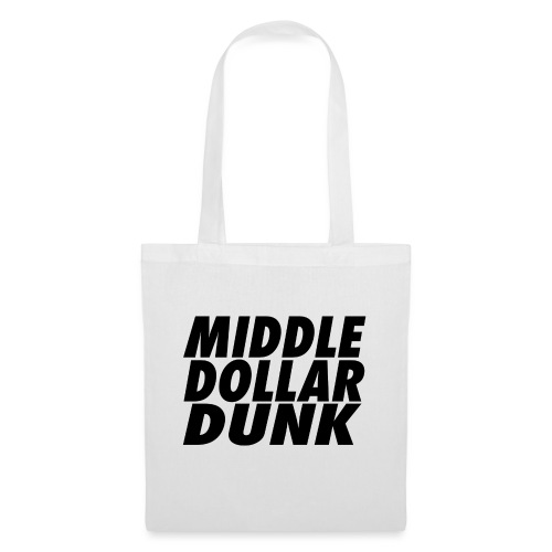 middle dollar dunk logo - Tote Bag
