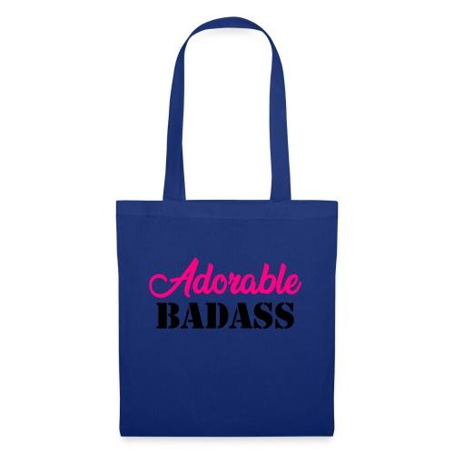Adorable Badass - Tas van stof
