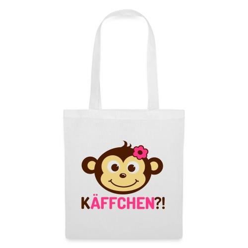 Monkey Käffchen Girl 3 - Stoffbeutel