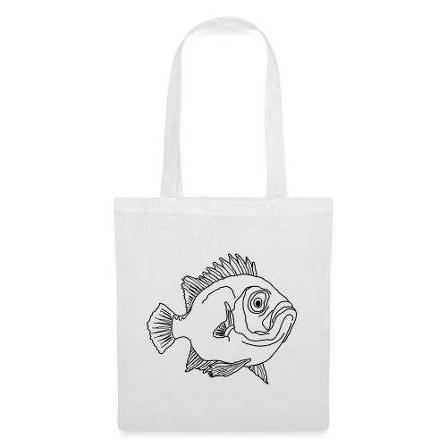 Fisch Barsch Ozean Meer Wasser Aquarium Angeln - Stoffbeutel