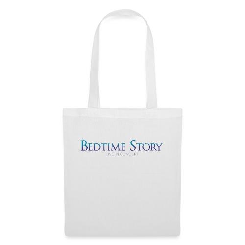 Bedtime_Story_White_Font - Stoffbeutel