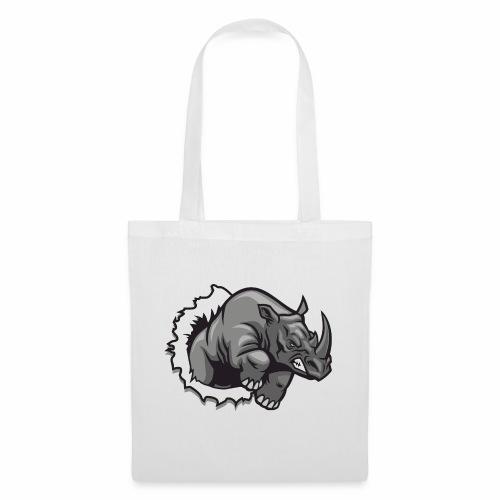 Méchant rhinocéros - Sac en tissu