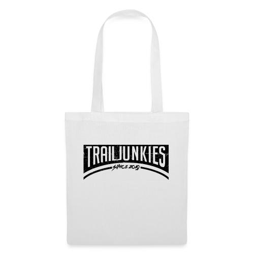 Trailjunkies2019 Black - Stoffbeutel