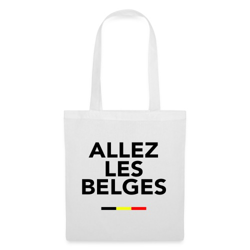 allez les Belges! - Sac en tissu
