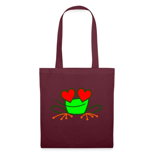 Frog in Love - Tote Bag