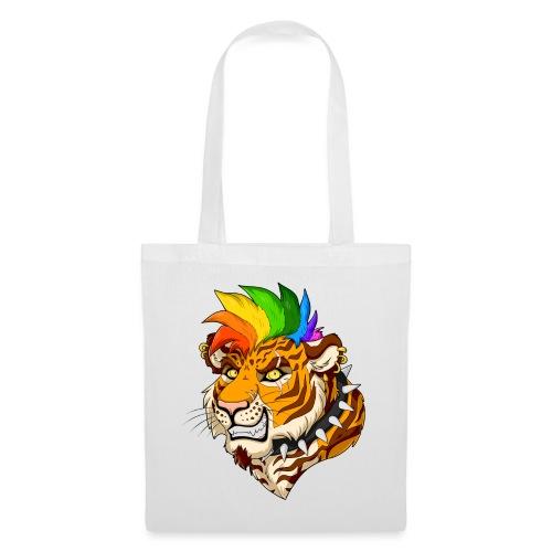 Punk Tiger - Torba materiałowa