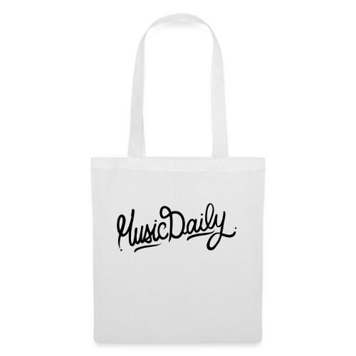 MusicDaily Logo - Tas van stof