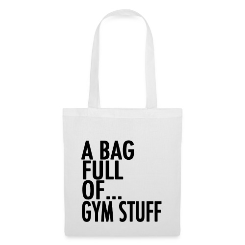 gym stuff black png - Tote Bag