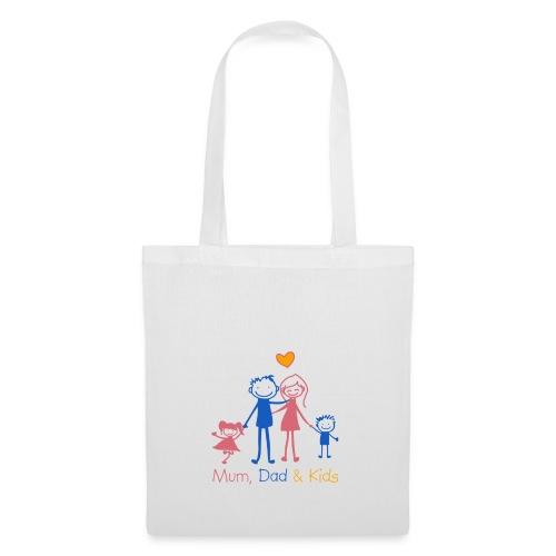Mum Dad Kids - Tote Bag