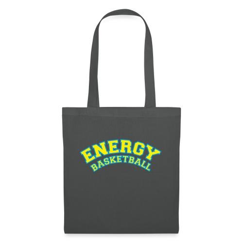 street wear logo giallo energy basketball - Borsa di stoffa