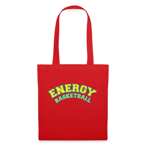 street wear logo giallo energy basketball - Borsa di stoffa