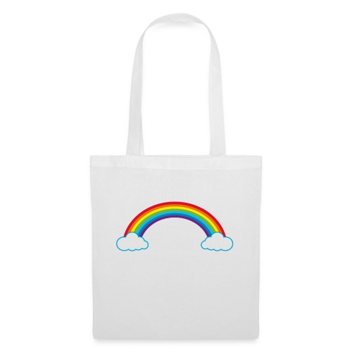 Regenbogen Sonne Herz Rainbow Cloud Heart - Tote Bag