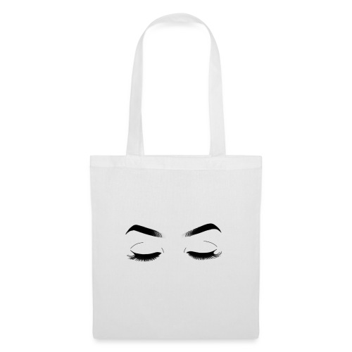 Closed eyes - Tote Bag