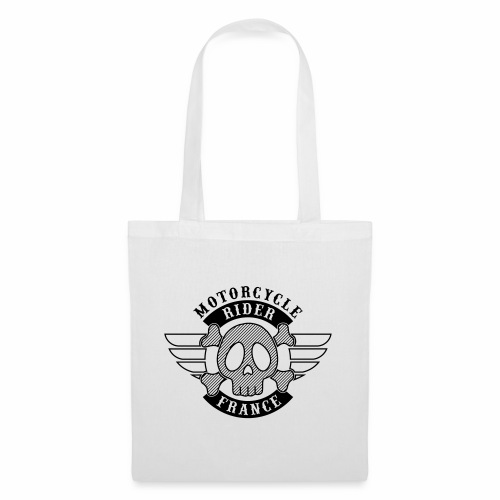 Motorcycle Rider France 'Wing' - Tote Bag