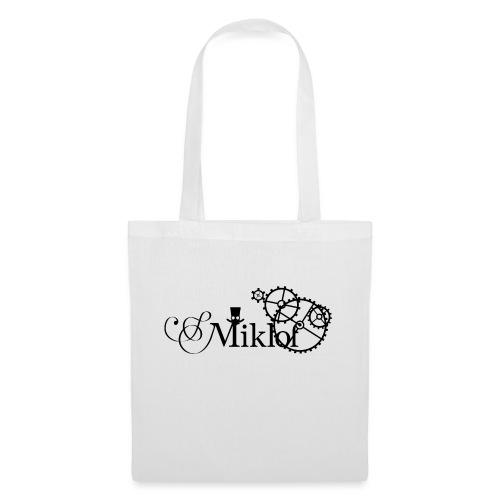 miklof logo black 3000px - Tote Bag