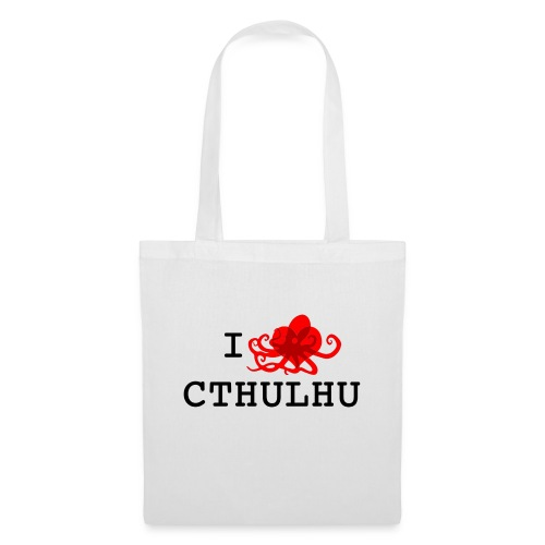 ilovecxthulhu png - Tote Bag