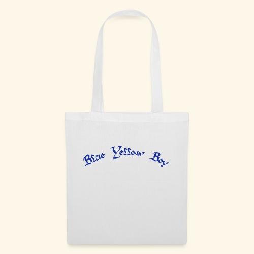 Blue Yellow Boy gebogen - Stoffbeutel