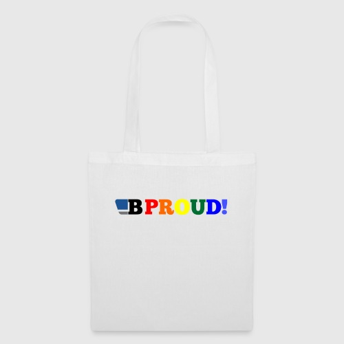 B-ProudrainbowSpread - Tote Bag