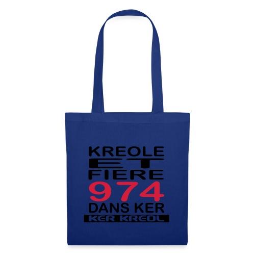Kreole et Fiere - 974 ker kreol - Sac en tissu