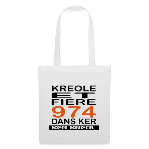 974 ker kreol - Kreole et Fiere - Sac en tissu