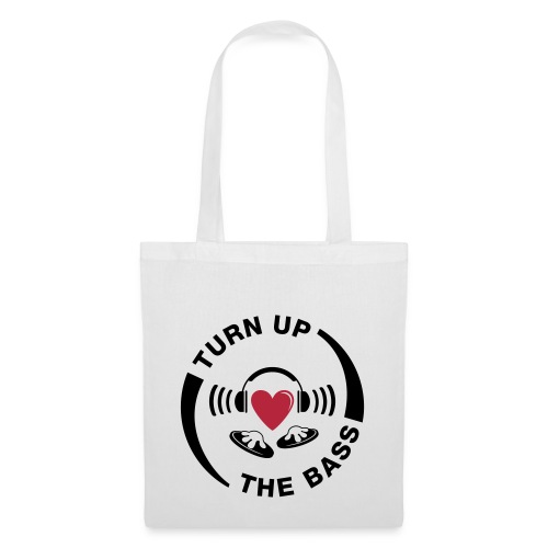 turn_up_the_bass - Tote Bag