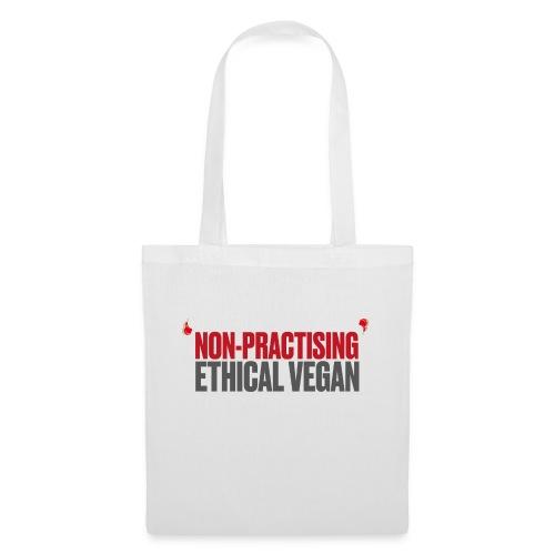 Non-practising Ethical Vegan - Tote Bag