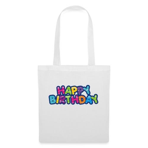 Happy Birthday Happy - Style - Stoffbeutel