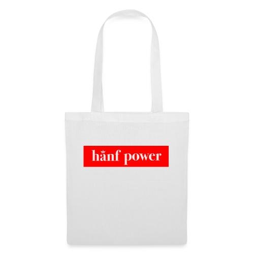 Hanf Power RED - Stoffbeutel