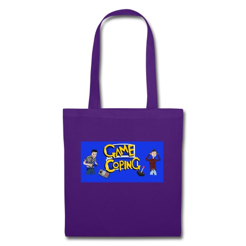 Game Coping Angry Banner - Tote Bag