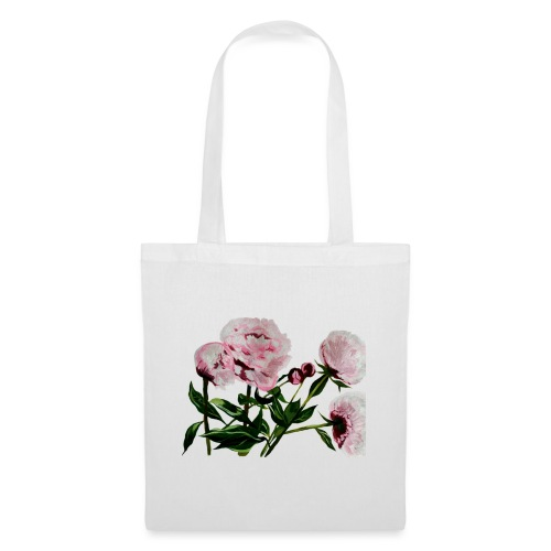 Peony painting - Tote Bag