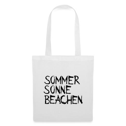 Sommer Sonne Beachen - Stoffbeutel