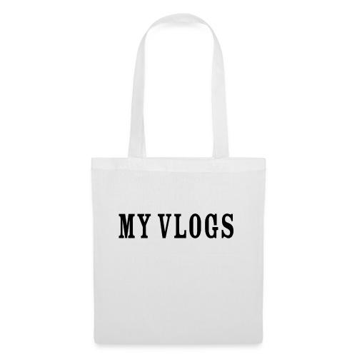 My Vlogs - Tote Bag