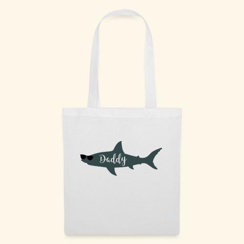 Daddy shark - Bolsa de tela