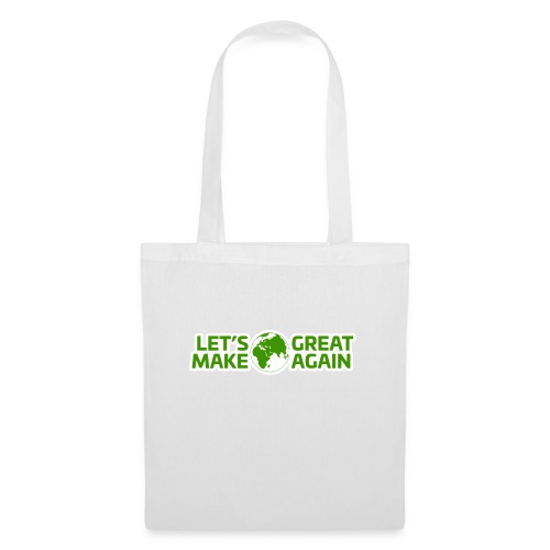 LetsMakeEarthGreatAgain - Tygväska