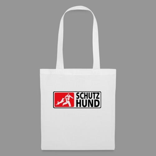 Schutzhund Logo fuer weissen Grund - Stoffbeutel