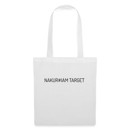 Wlepa Nakur#iam Target - Torba materiałowa