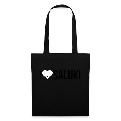 I Love Saluki - Borsa di stoffa