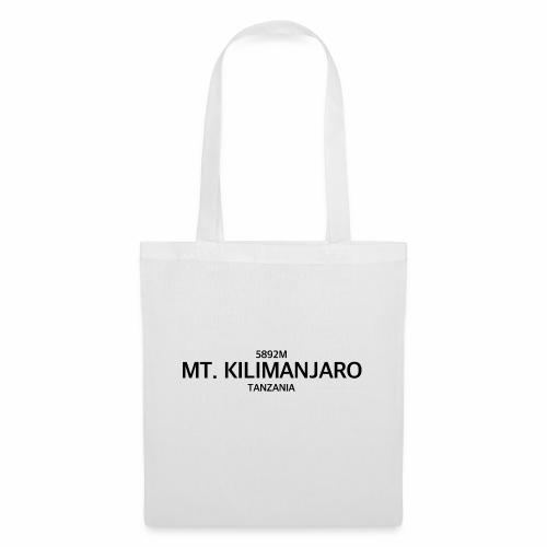 MT. KILIMANJARO - Bolsa de tela