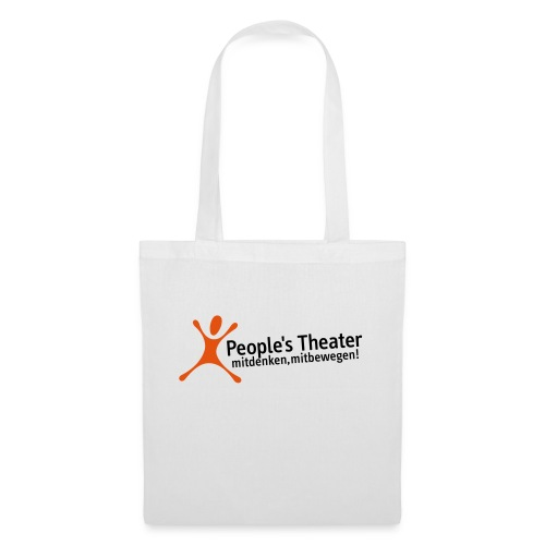 People's Theater Logo - Stoffbeutel